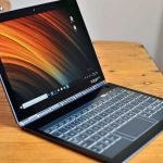 Review Lenovo Yoga Book C930 laptop with E-Ink screen-keyboard