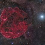 A nearby supernova explosion could destroy large animals millions of years ago.