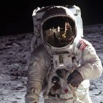 How does low moon gravity affect astronaut health?