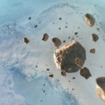 Under the Greenland glacier, a 31-kilometer impact crater was discovered