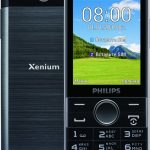 Philips Xenium E580 - expensive button