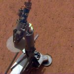 InSight probe prepares to drill a 5 meter hole on Mars