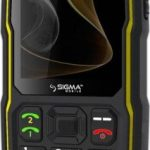 Sigma mobile X-treme ST68 - a button with Type-C
