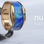 MWC-2019: ZTE Nubia α - smart watch with a bending screen