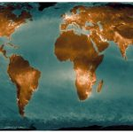 A fresh map of nitrogen dioxide emissions to the atmosphere is presented.