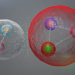 At the LHC found exotic particles of five quarks