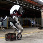 # video | The company Boston Dynamics officially introduced the robot Handle