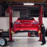 Tesla car owners can follow the progress of their repairs.