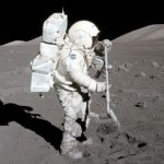 NASA will examine intact samples of lunar soil collected during the latest Apollo missions