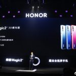 Honor Magic 2 3D recognizes the face in the dark