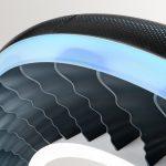 Τα νέα ελαστικά της Goodyear θα είναι σε θέση να μετατραπούν σε έλικες για ιπτάμενα μηχανήματα.
