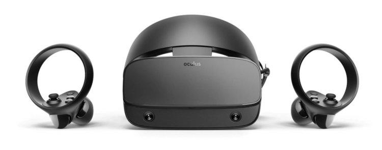 edf28bbef Dodávka nového headsetu bude součástí dodávkyDva regulátory Oculus Touch.  Headset navíc obdržel pět kamer pro monitorování prostředí.