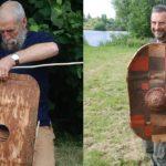 Archeologen hebben een 2300 jaar oud schild gevonden tegen de schors van een boom - is het beter dan metalen schilden?