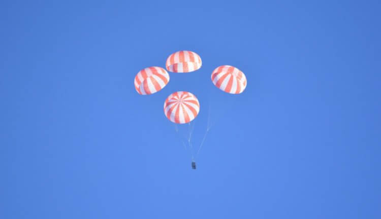 SpaceX spoke about another accident of the ship Crew Dragon