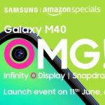 Samsung Galaxy M40 with Infinity-o screen will be presented on June 11