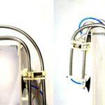 # vidéo | Le robot peut même être fabriqué à partir d'un tuyau de douche et ramper sur les murs.