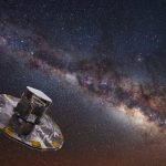 Studying the stars, the Gaia Space Telescope discovered three unknown asteroids.