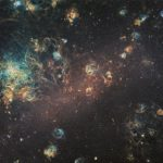 Astronomers showed a 240 megapixel image of the Big Magellanic Cloud