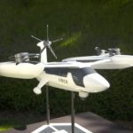 Uber first showed a prototype of its flying taxi