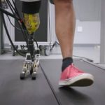 A prosthetic leg with the most realistic foot