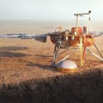 NASA redder InSight Rig med robotarm