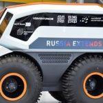 En hybrid terrængående køretøj Volgabus med kunstig intelligens er blevet oprettet i Rusland