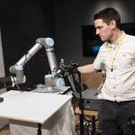 This robotic arm is capable of transmitting tactile communication for thousands of kilometers.