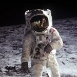 Why cosmic radiation did not kill astronauts when flying to the moon