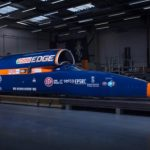 The Bloodhound SSC Rocket Vehicle was officially presented to the public.