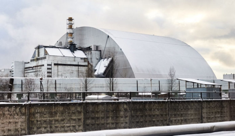 video of the day | New Chernobyl sarcophagus took its place