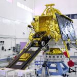 India launched a moon rover to the moon as part of the Chandrayan-2 mission