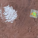 Under the South Pole of Mars found a lake with liquid water