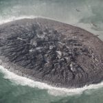 # photo | The largest island of mud disappeared from the face of the earth
