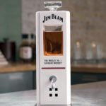 "Jim Beam presented a ""smart"" decanter, pouring you a whiskey"