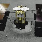 Japanese spacecraft for the second time sat on the asteroid Ryugu