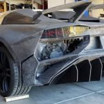 An American at home printed on a Lamborghini Aventador 3D printer and can be ridden