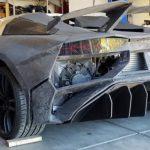 Американець у себе вдома надрукував на 3D-принтері Lamborghini Aventador і на ньому можна їздити