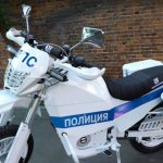 "Concern ""Kalashnikov"" created an electric bike for the police"