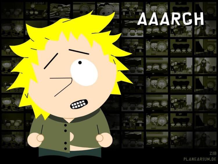 South Park fajčenie