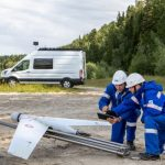 Gazprom Neft bruger flyvende droner til at kontrollere olierørledninger og ikke kun