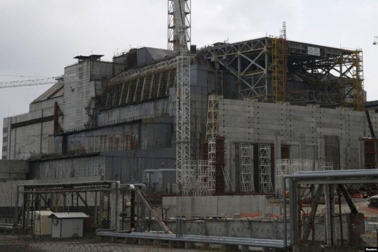 El Viejo Sarcófago De La Central Nuclear De Chernobyl Será