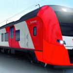 Russian Railways tested an unmanned electric train