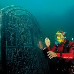 In Egypt, found a sunken temple and a ship with treasure