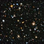 What is between galaxies?