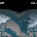 В Арктиці йде сніг з частинками пластика