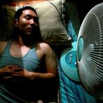 Under what conditions can fans be hazardous to health?
