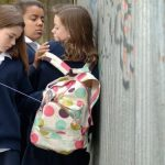 How does bullying in school affect a child's brain?