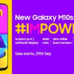 Samsung has announced the Galaxy M10s for the Indian market: a budget smartphone with a serious battery