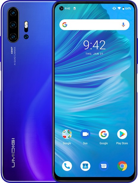 UMIDIGI F2 - the first on Android 10