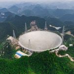 In China, built a telescope to search for extraterrestrial life